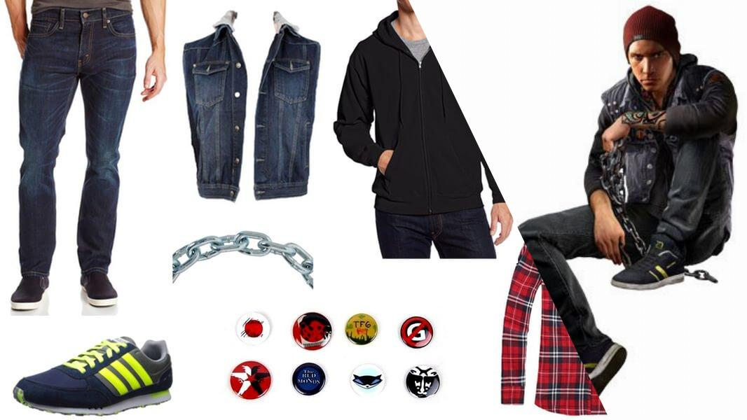 Delsin Rowe Cosplay Tutorial