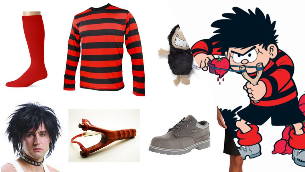 Dennis and Gnasher Cosplay Tutorial
