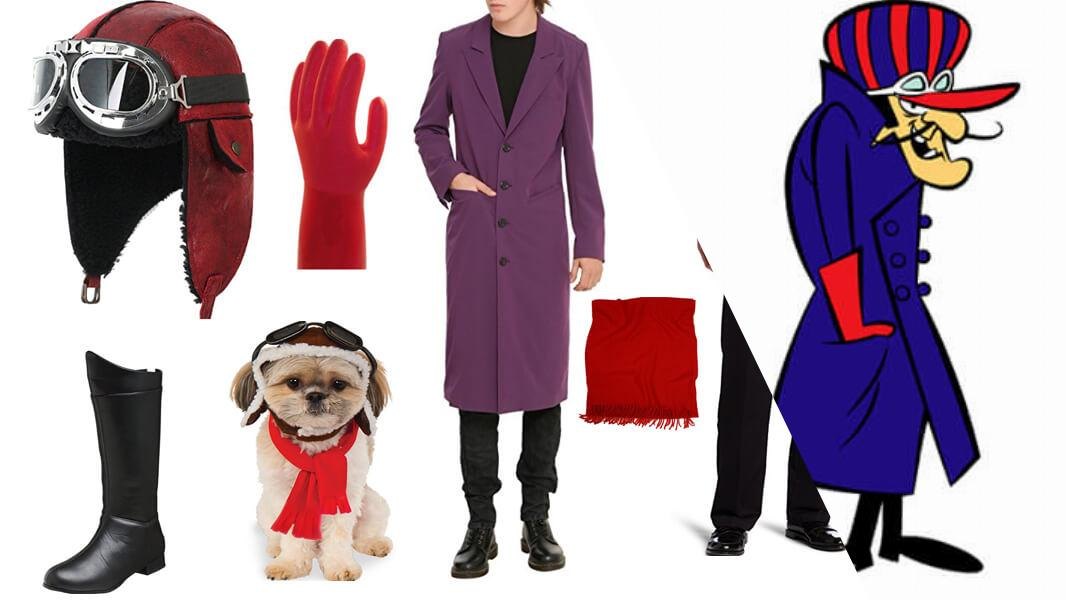 Dick Dastardly and Muttley Cosplay Tutorial