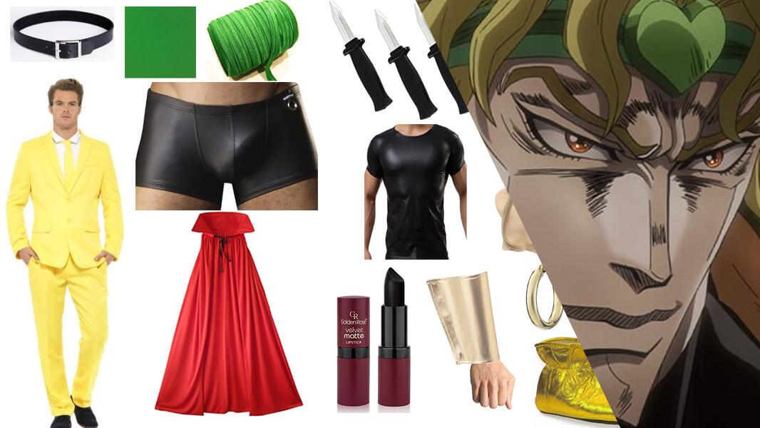 DIO From Stardust Crusaders Cosplay Tutorial