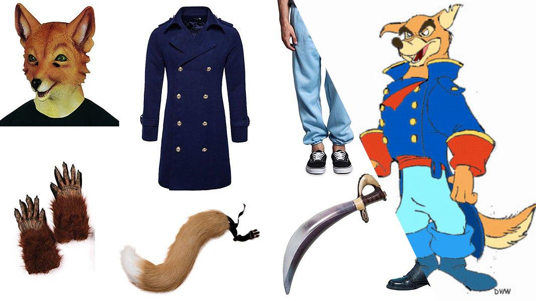 Don Karnage from TaleSpin Cosplay Tutorial