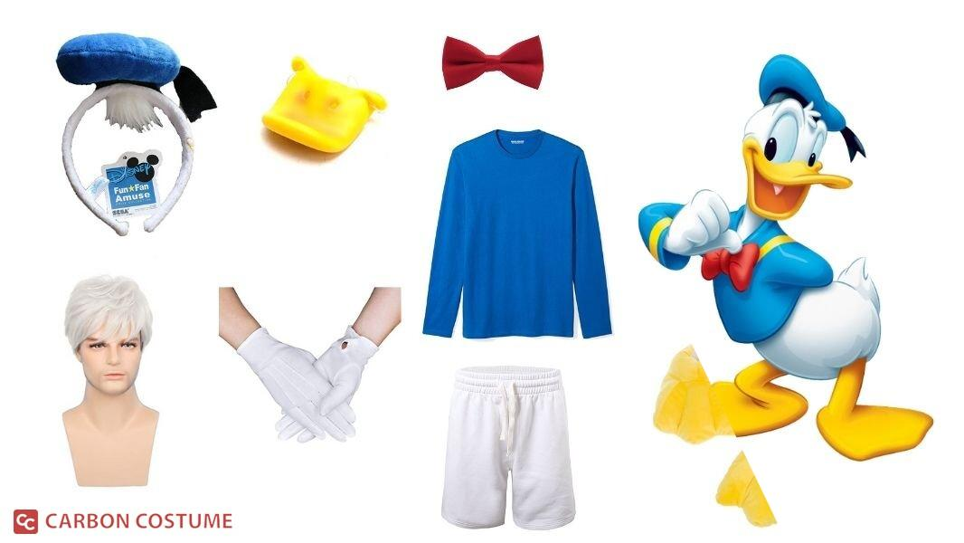 Donald Duck Cosplay Tutorial