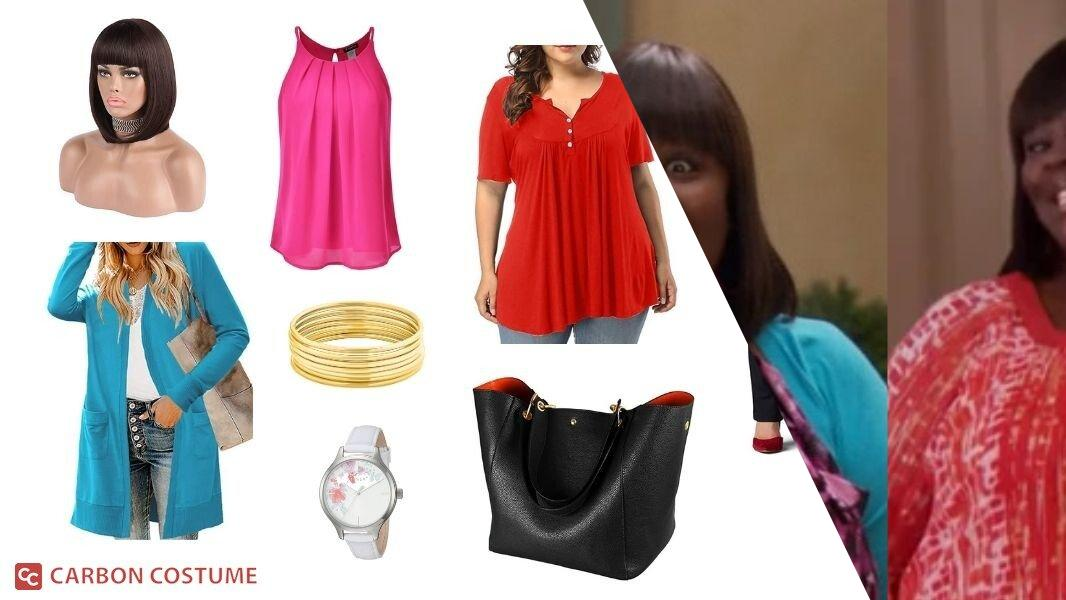 Donna Meagle from Parks and Recreation Cosplay Tutorial