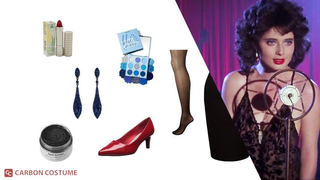 Dorothy Vallens from Blue Velvet Cosplay Tutorial