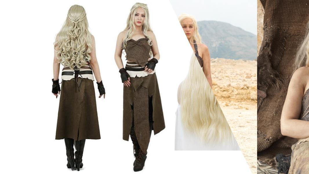 Dothraki Daenerys Targaryen Cosplay Tutorial