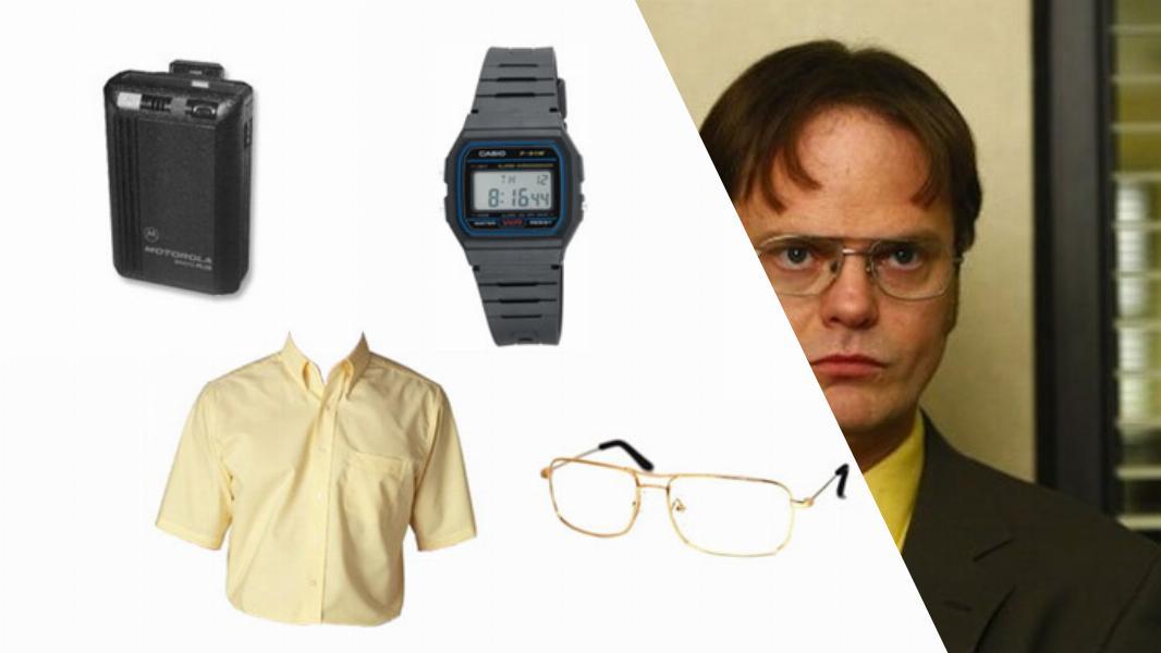 Dwight Schrute Cosplay Tutorial
