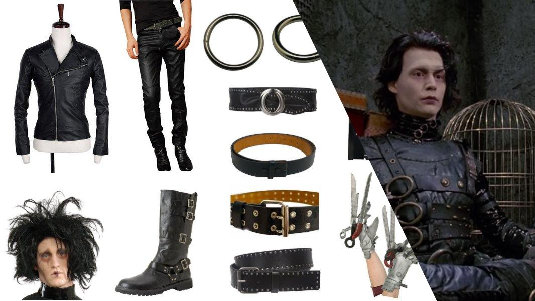 Edward Scissorhands Cosplay Tutorial