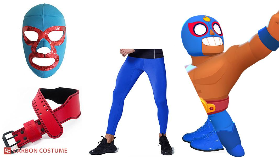 El Primo from Brawl Stars Cosplay Tutorial