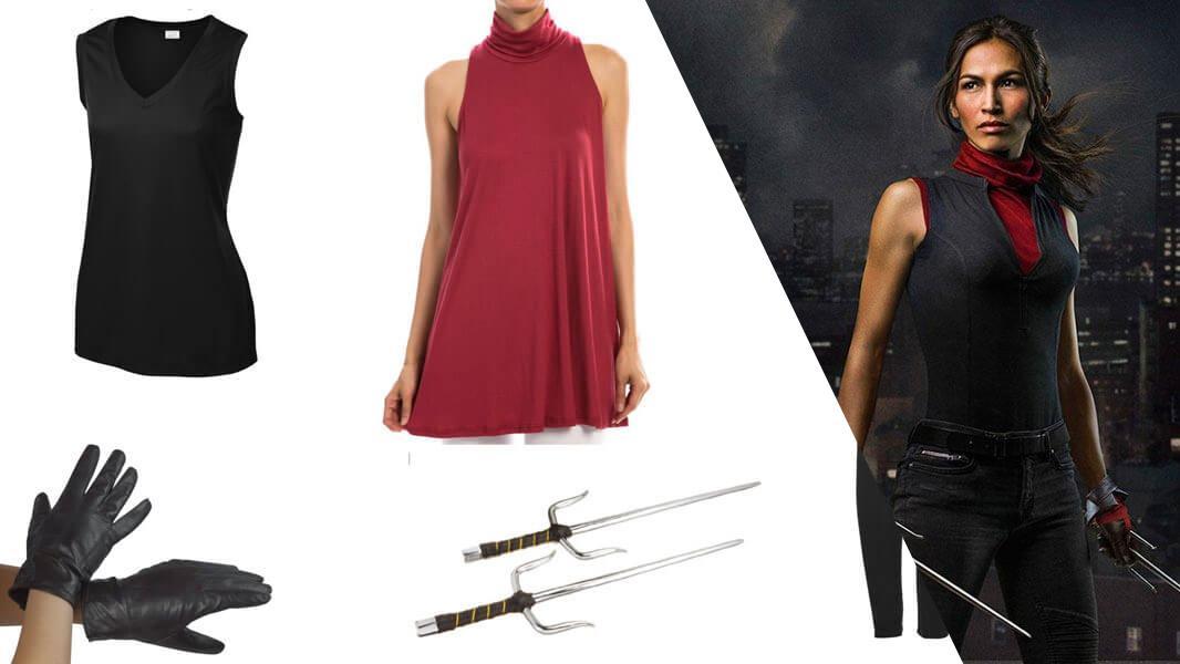 Elektra Black Cosplay Tutorial