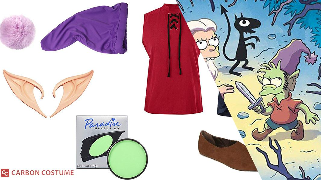 Elfo from Disenchantment Cosplay Tutorial