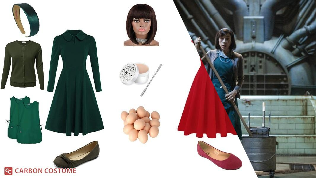 Elisa Esposito from The Shape of Water Cosplay Tutorial