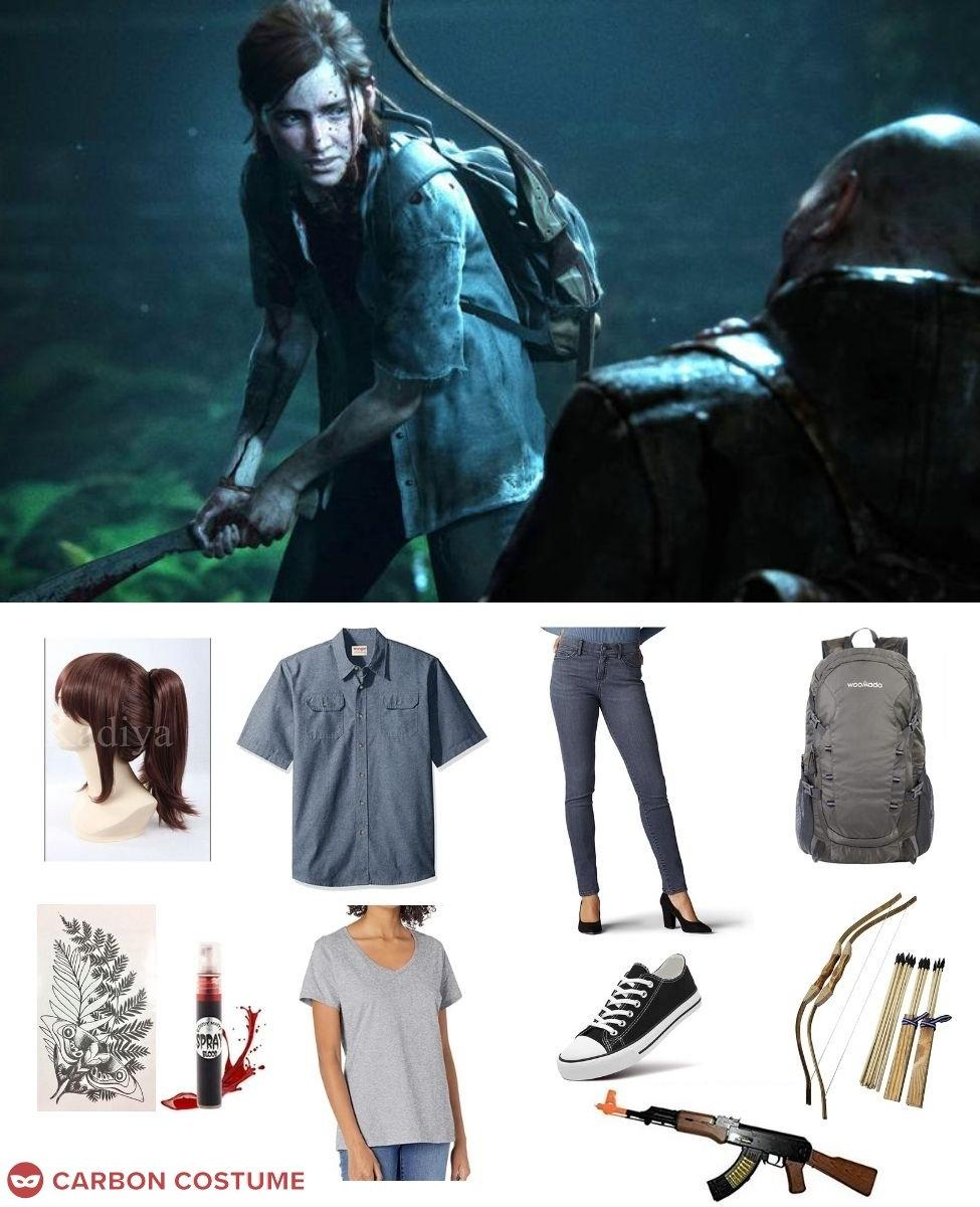 Ellie from The Last of Us 2 Cosplay Guide