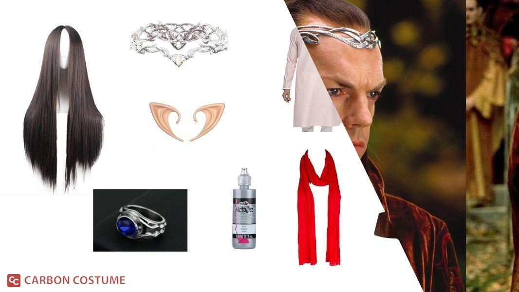 Elrond in Lord of the Rings Cosplay Tutorial