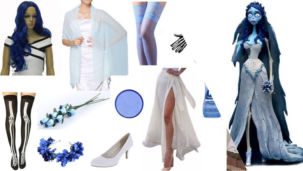 Emily The Corpse Bride Cosplay Tutorial