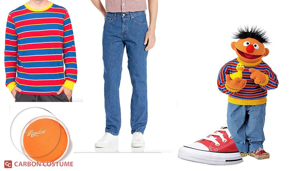Ernie from Sesame Street Cosplay Tutorial