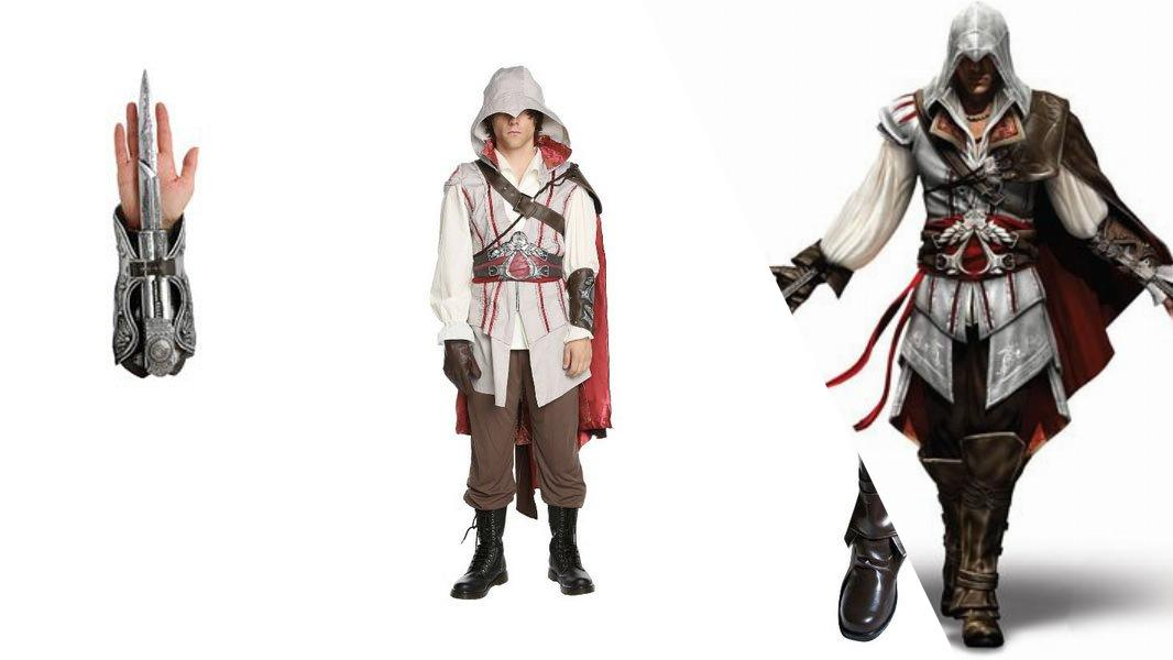 Ezio from Assassin's Creed II Cosplay Tutorial