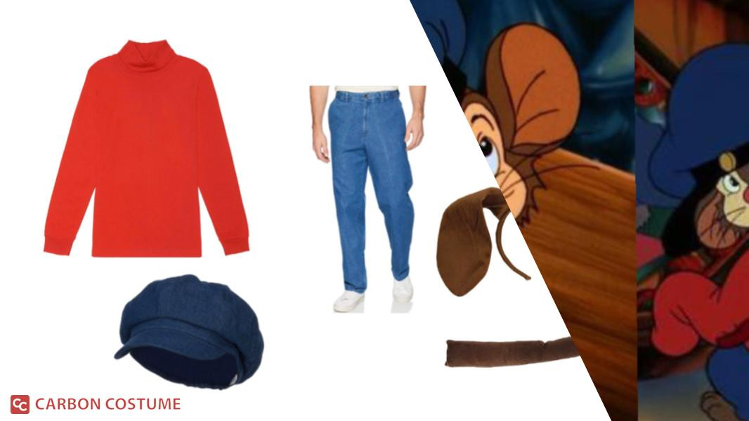 Fievel from An American Tail Cosplay Tutorial