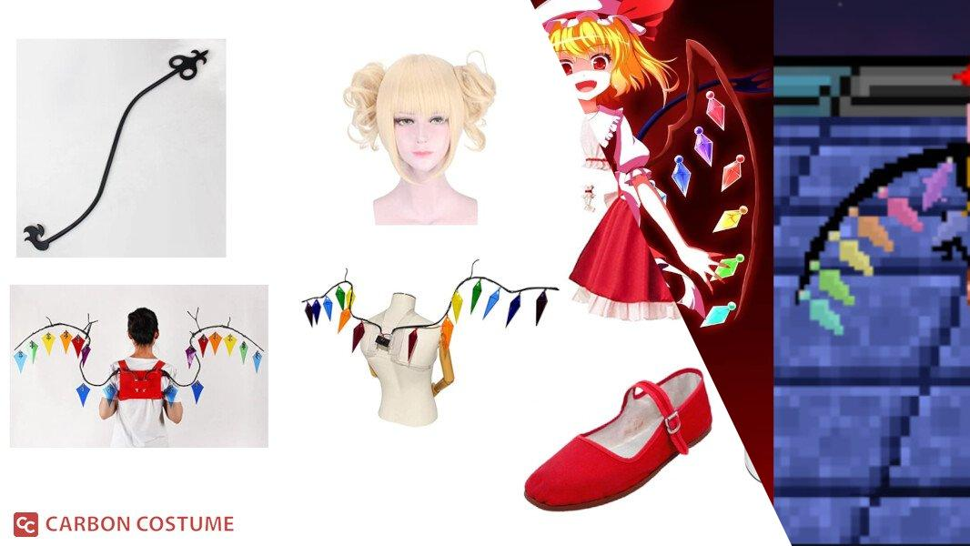 Flandre Scarlet from Touhou Project Cosplay Tutorial
