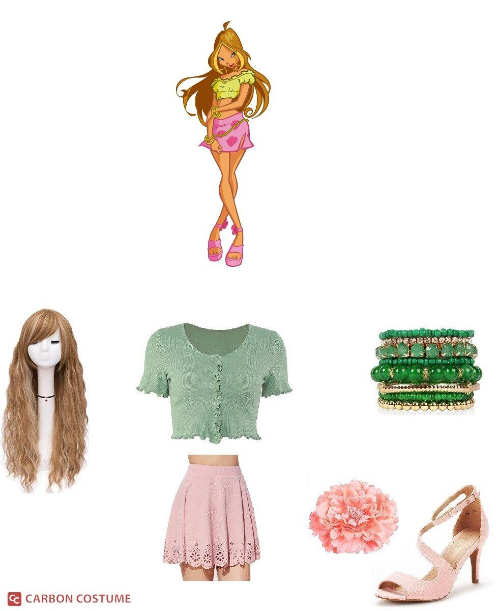 Flora from Winx Club Cosplay Guide