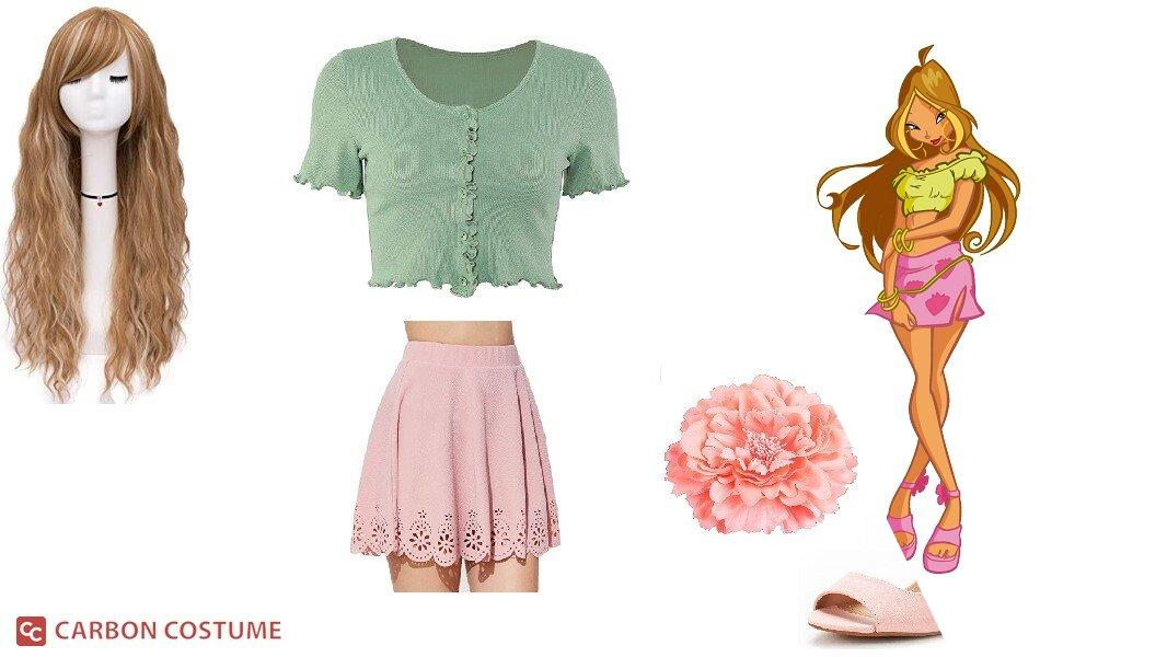 Flora from Winx Club Cosplay Tutorial
