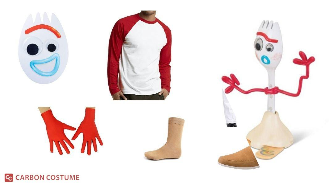 Forky from Toy Story 4 Cosplay Tutorial