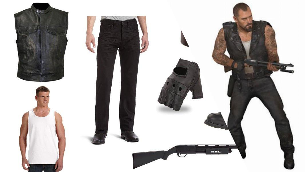 Francis from Left 4 Dead Cosplay Tutorial