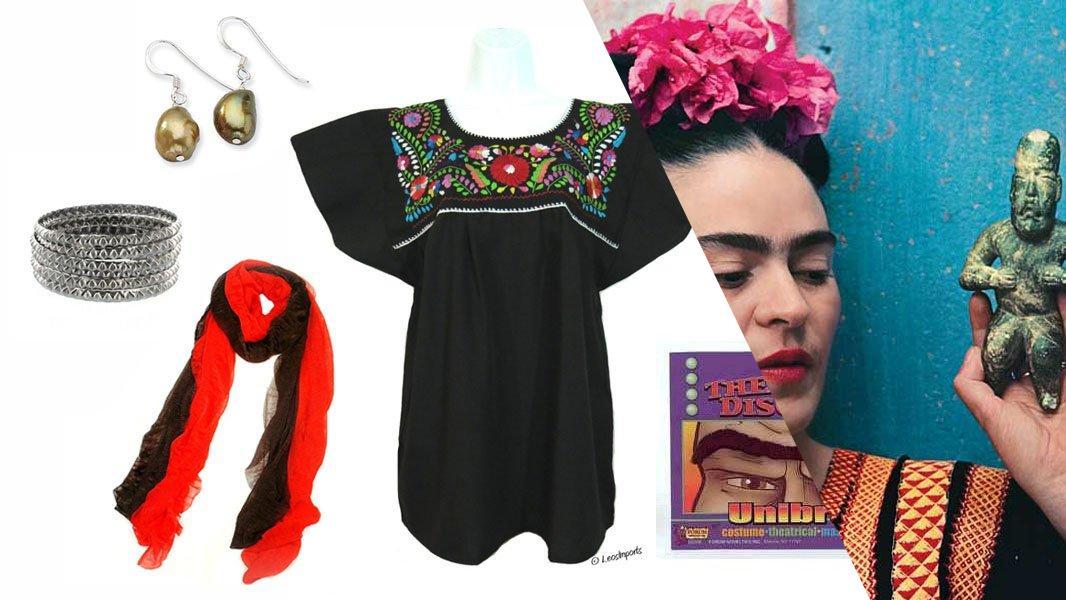 Frida Kahlo Cosplay Tutorial