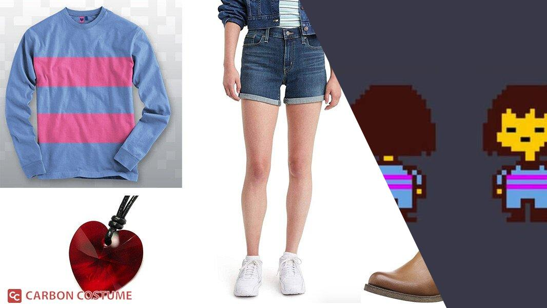 Frisk from Undertale Cosplay Tutorial