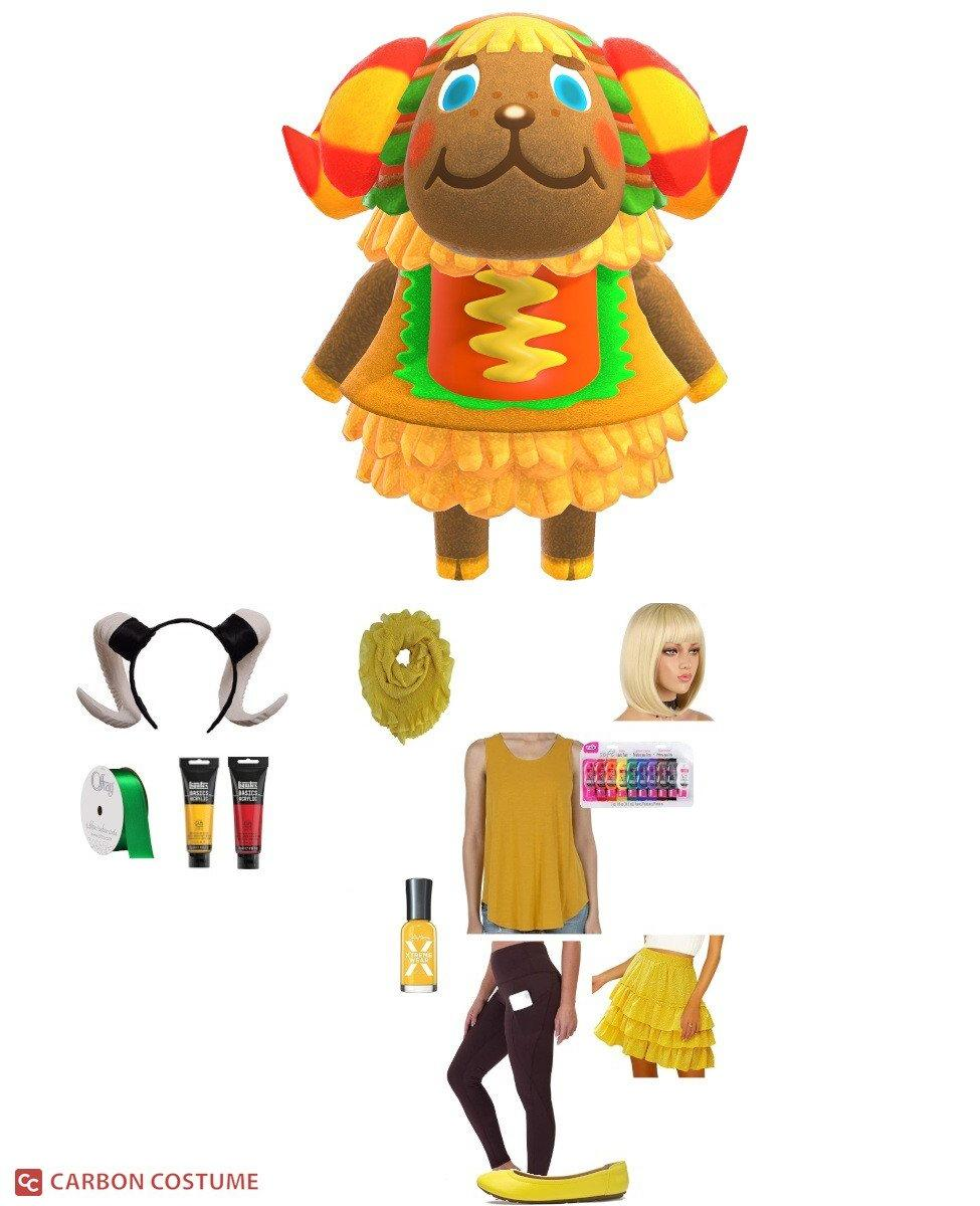 Frita from Animal Crossing Cosplay Guide