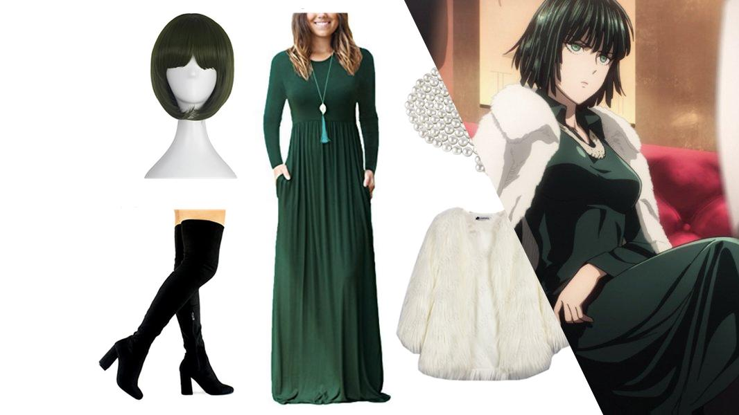 Fubuki from One-Punch Man Cosplay Tutorial