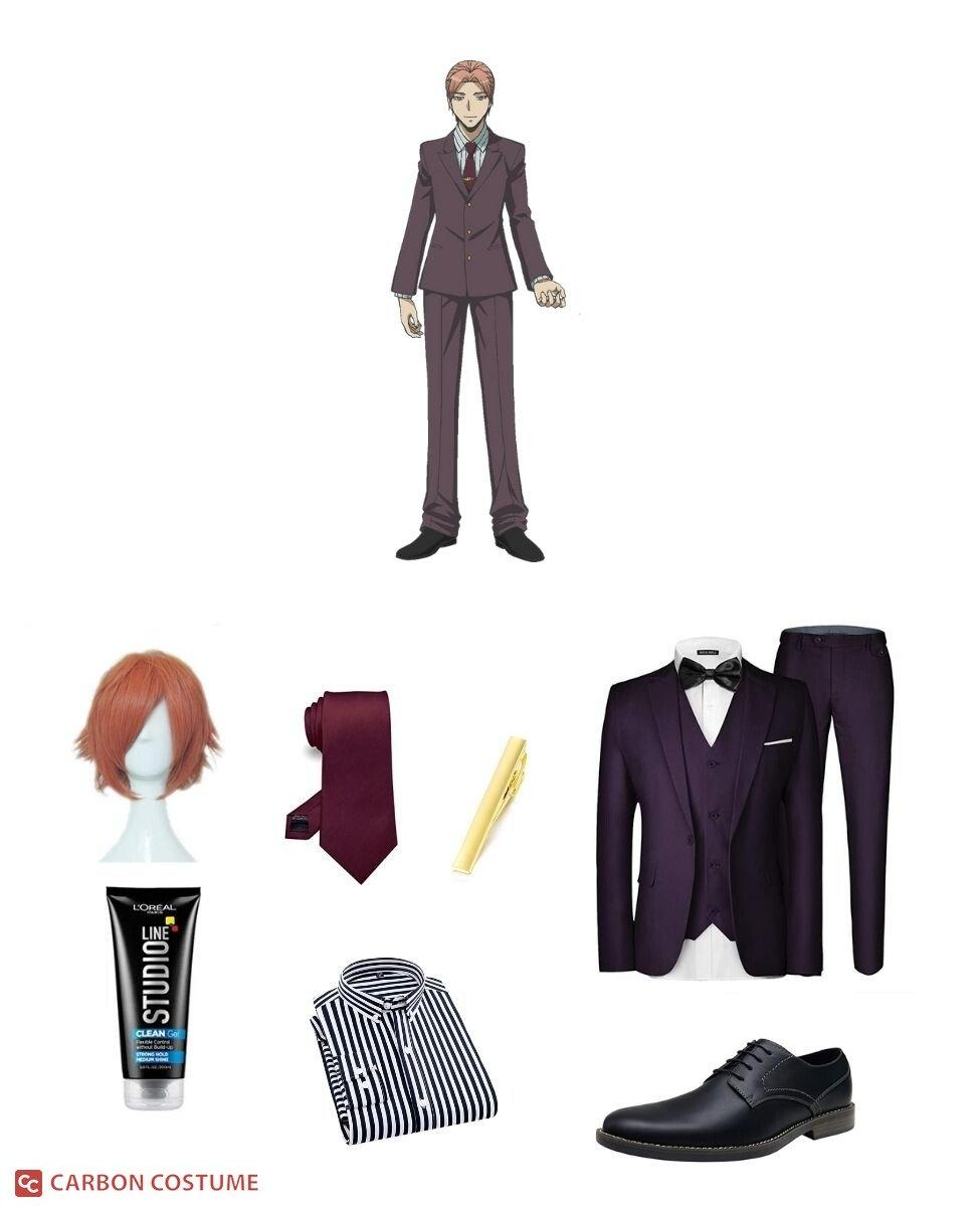 Gakuhō Asano from Assassination Classroom Cosplay Guide