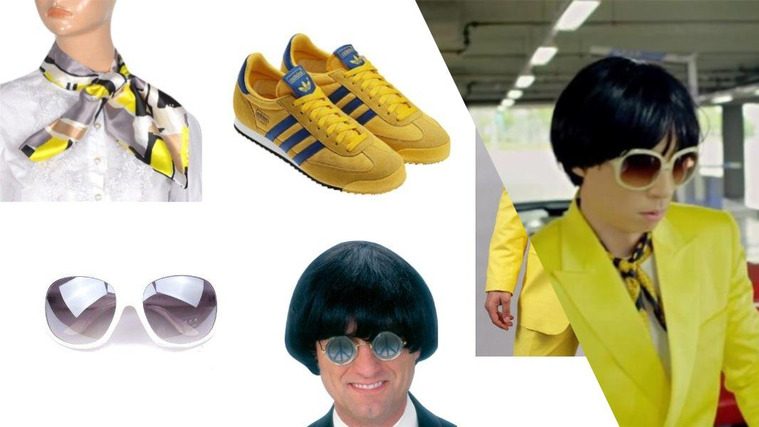 Gangnam Style Yellow Suit Guy Cosplay Tutorial