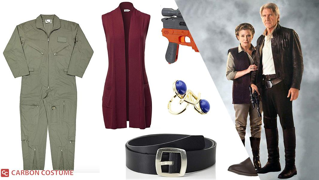 General Leia Organa from The Force Awakens Cosplay Tutorial