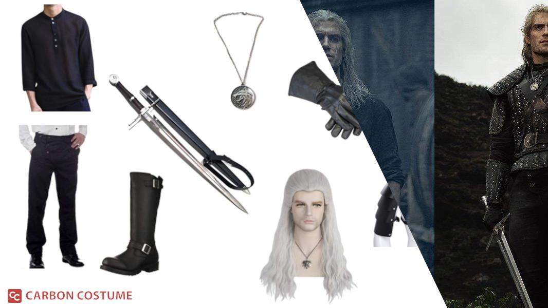 Geralt from Netflix's The Witcher Cosplay Tutorial