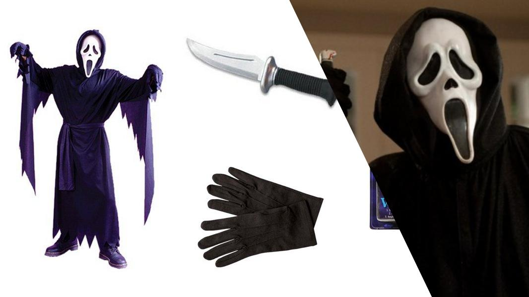 Ghostface from Scream Cosplay Tutorial