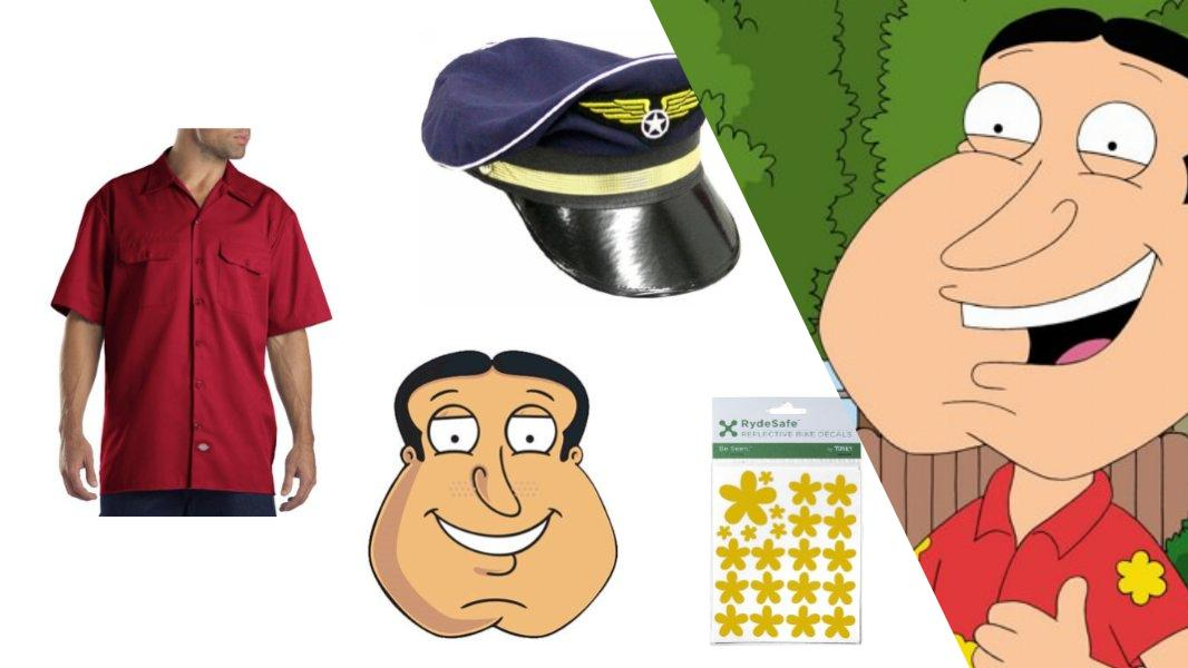 Glenn Quagmire Cosplay Tutorial