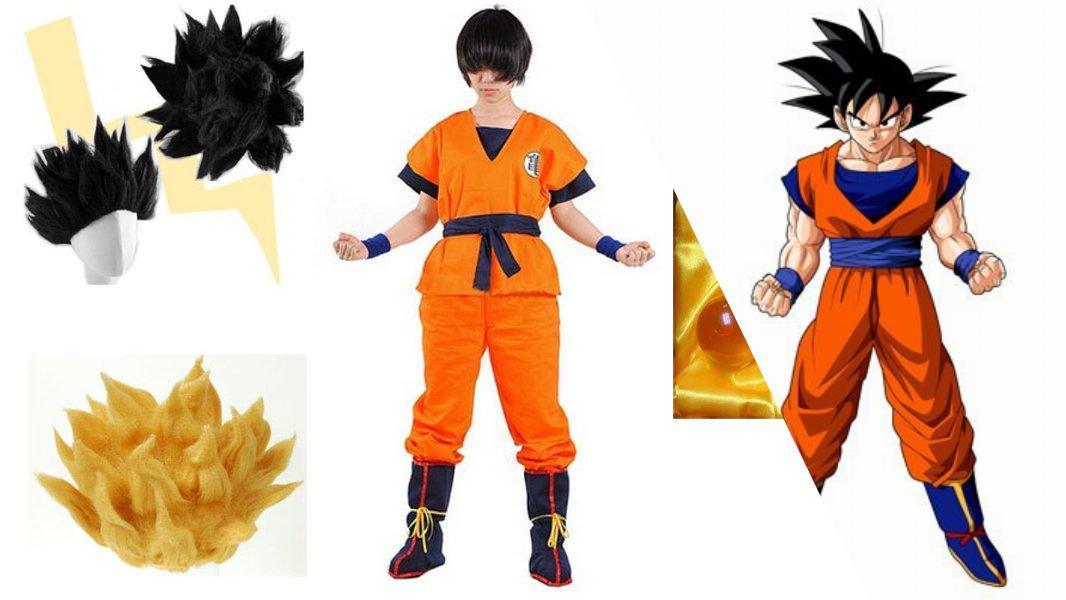 Goku Cosplay Tutorial