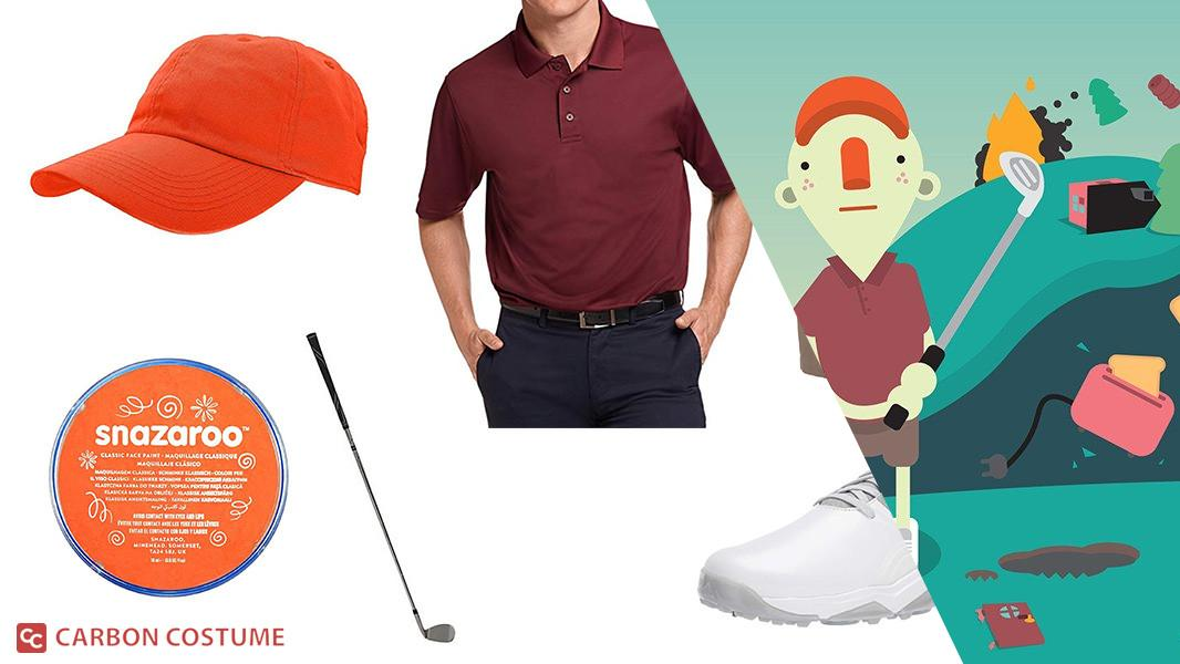 Golfer from What the Golf? Cosplay Tutorial