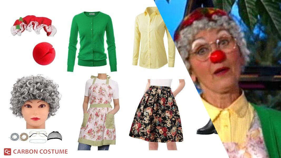Granny Garbanzo from The Big Comfy Couch Cosplay Tutorial