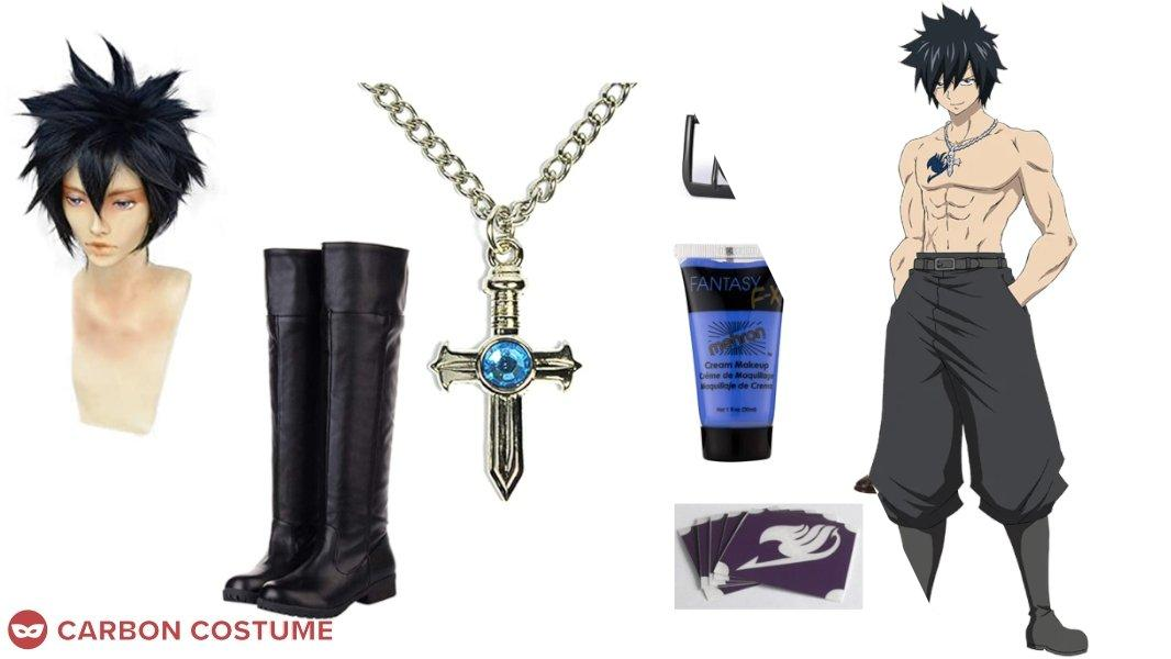 Gray Fullbuster from Fairy Tail Cosplay Tutorial