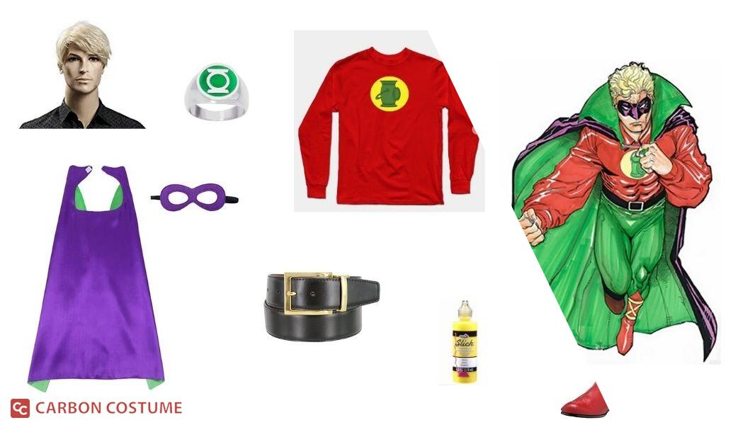 Green Lantern (Alan Scott) Cosplay Tutorial