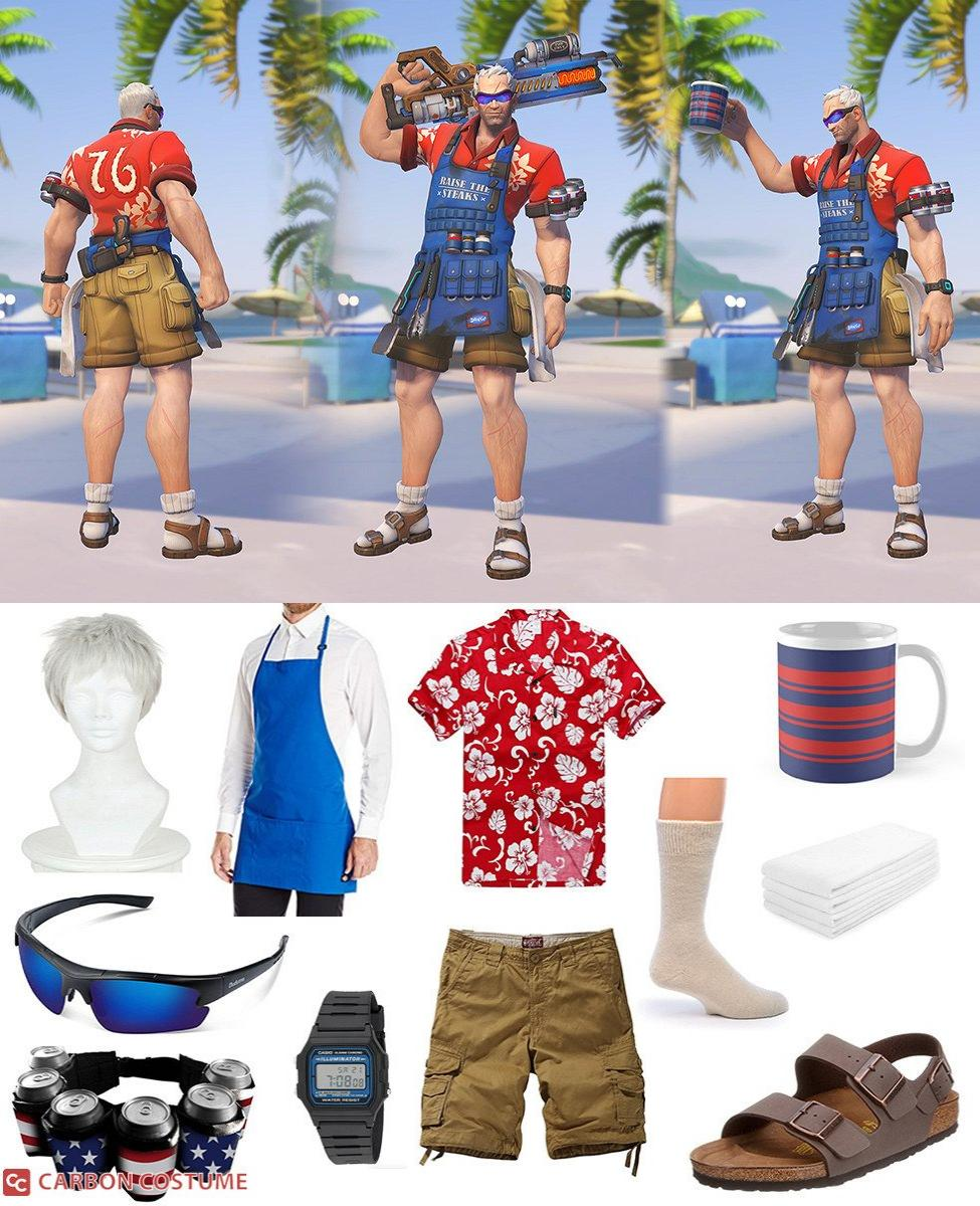Grillmaster Soldier:76 Cosplay Guide