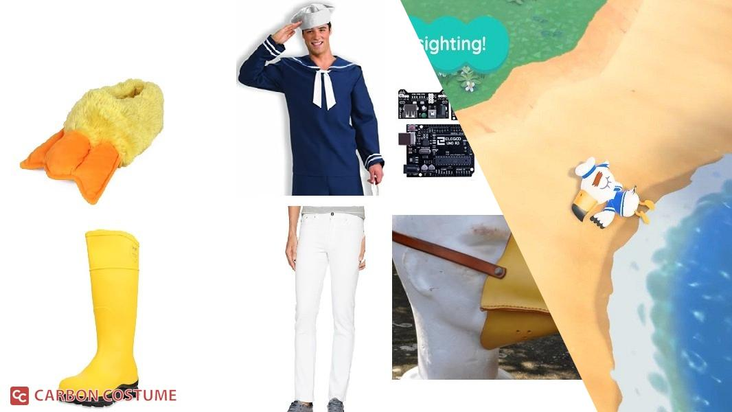 Gulliver from Animal Crossing: New Horizons Cosplay Tutorial