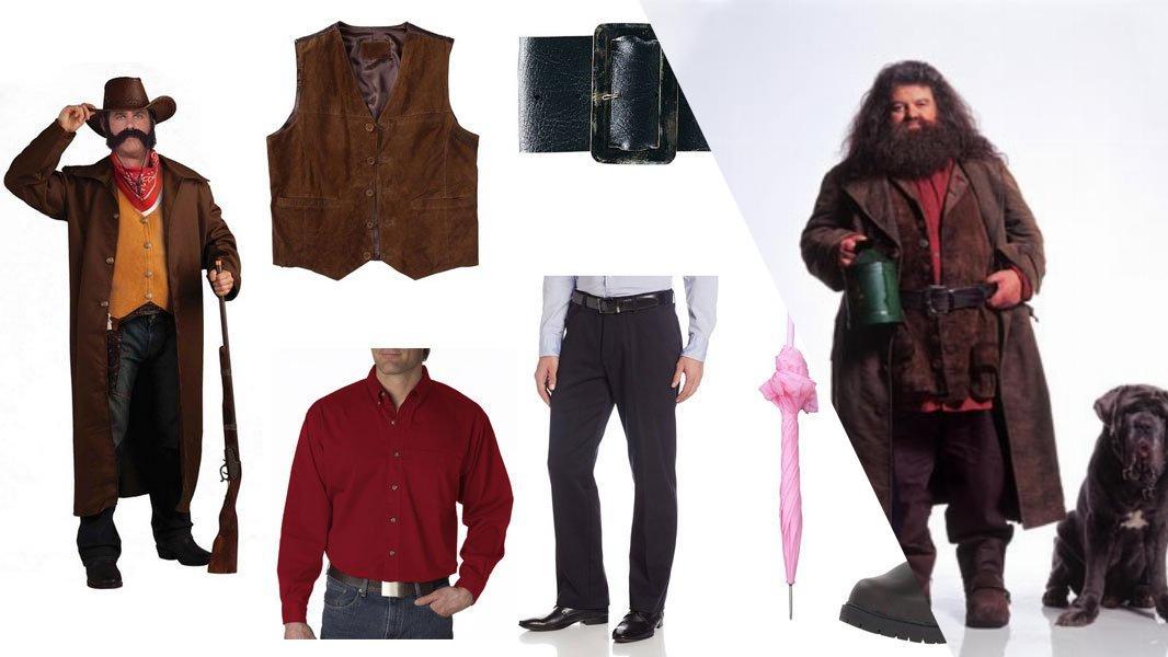 Hagrid Cosplay Tutorial