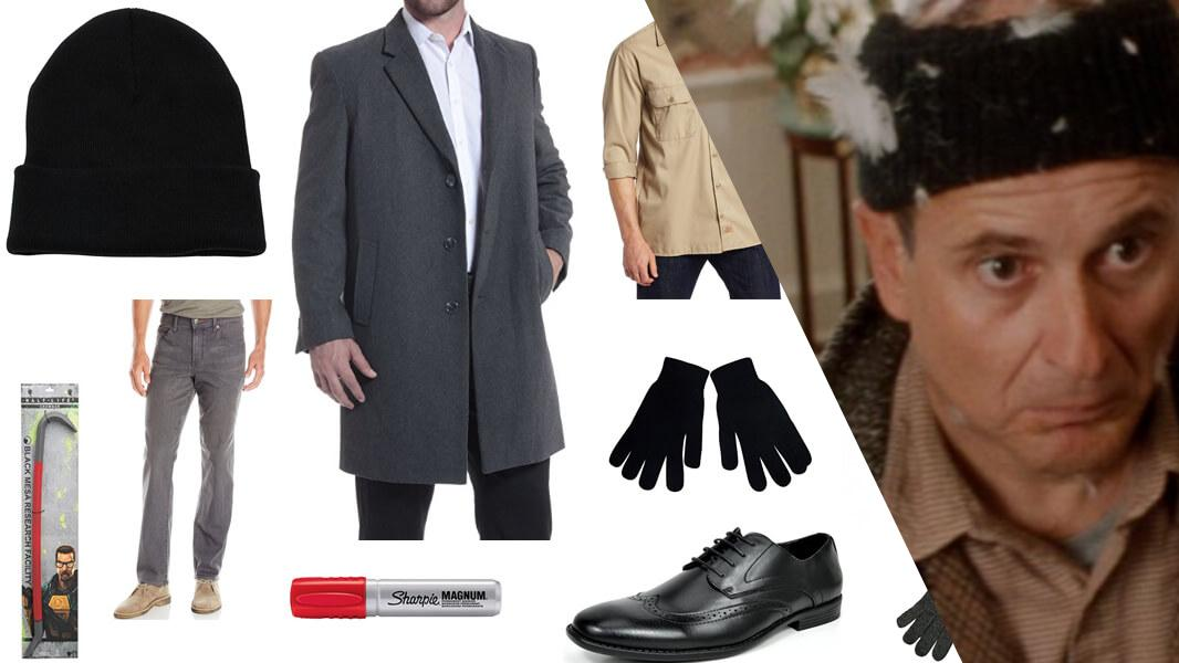 Harry from Home Alone Cosplay Tutorial