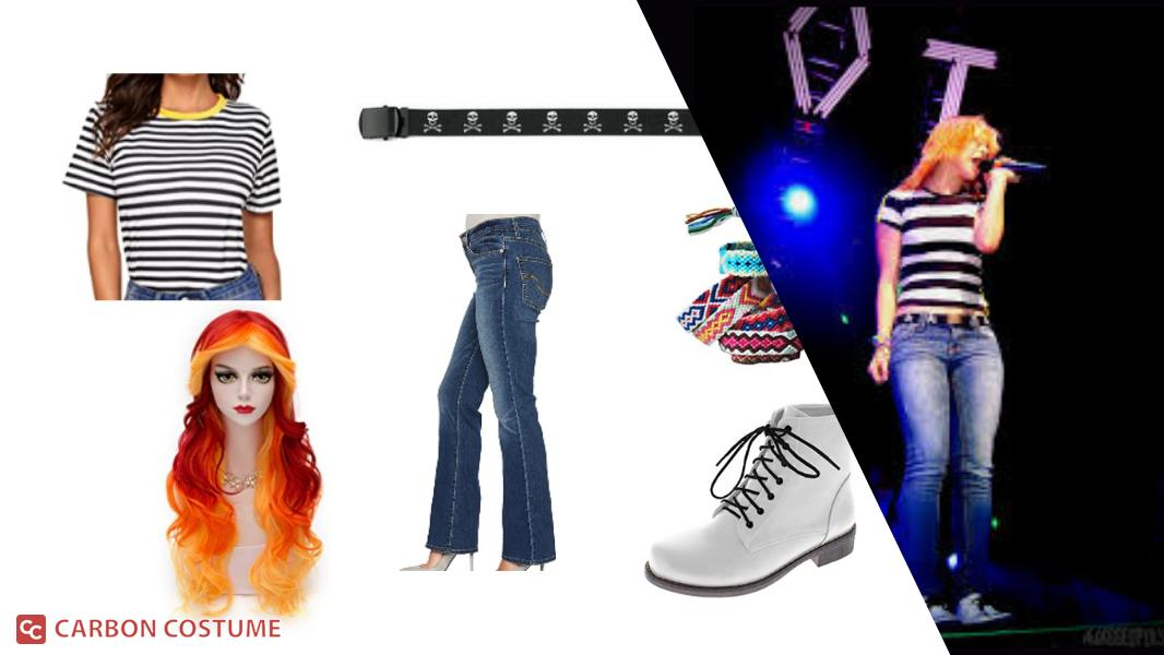 Hayley Williams of Paramore at The Final Riot Concert Cosplay Tutorial