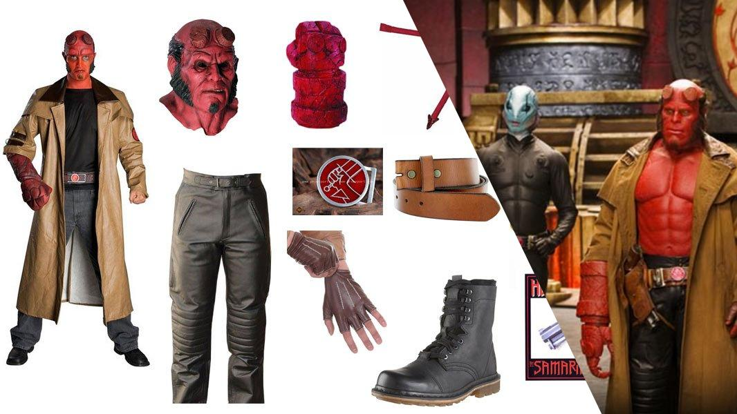 Hellboy Cosplay Tutorial
