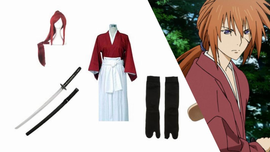 Himura Kenshin from Rurouni Kenshin Cosplay Tutorial