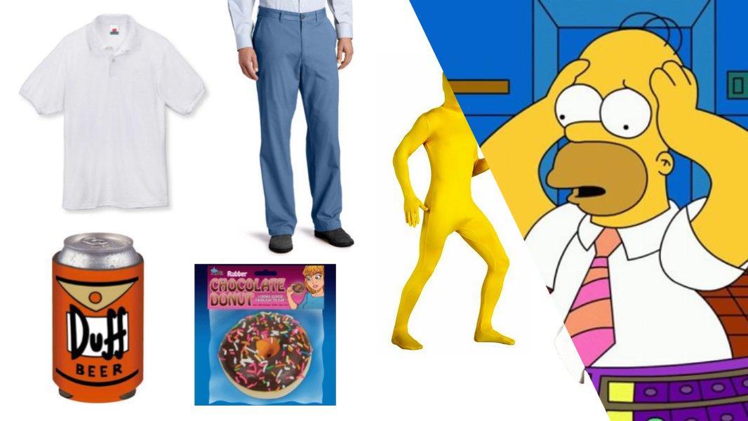 Homer Simpson Cosplay Tutorial