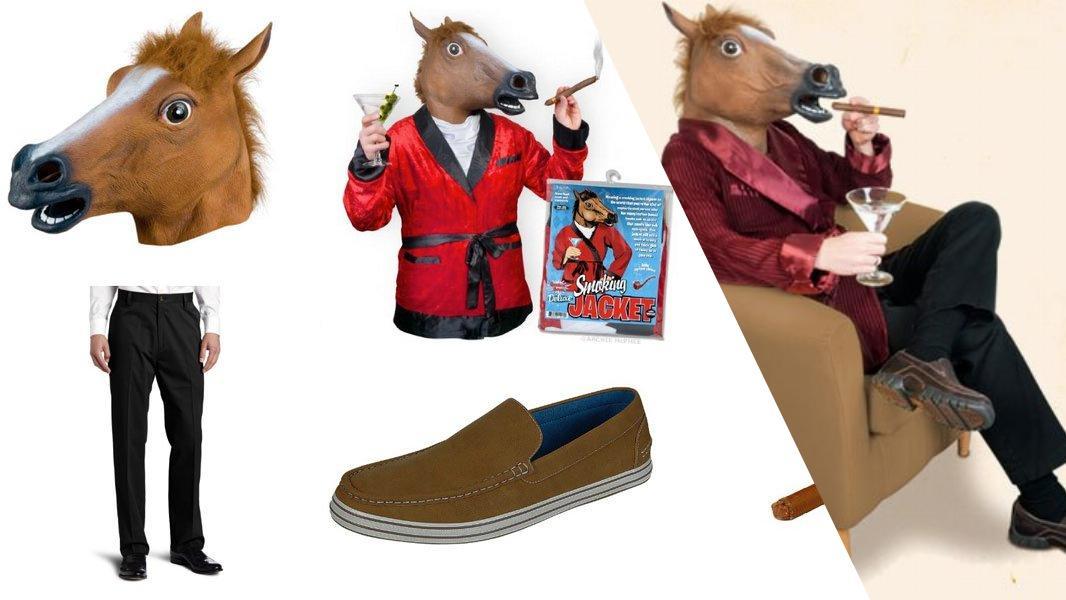 Horse Head Man Cosplay Tutorial